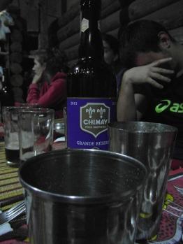 Une bière, une vraie! Chimay!